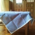 prti z modrim potiskom